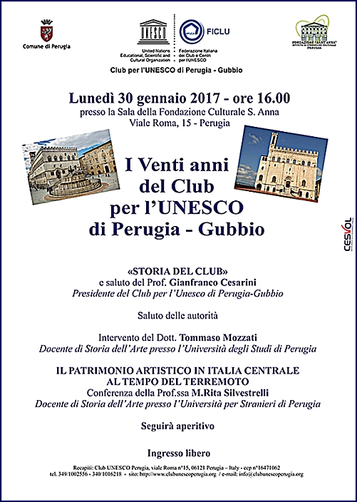 Unesco 30 gennaio 2017
