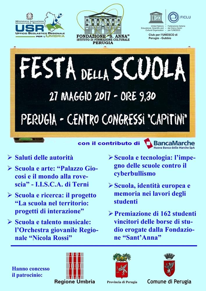 locandina festa scuola 2017
