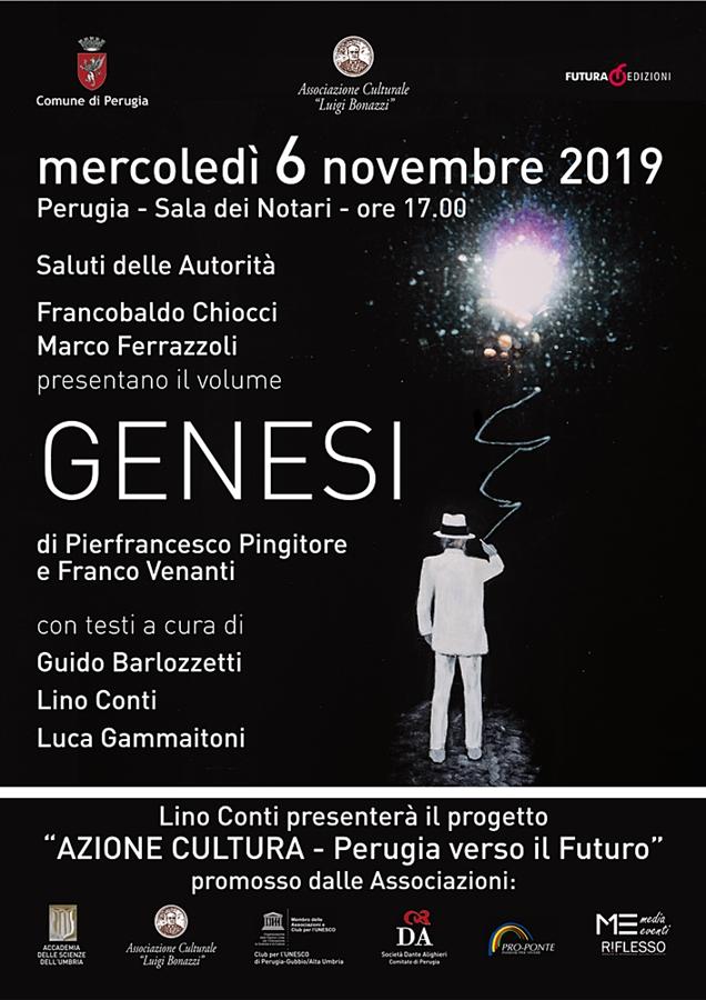 locandina presentazione Genesi 6-11-19
