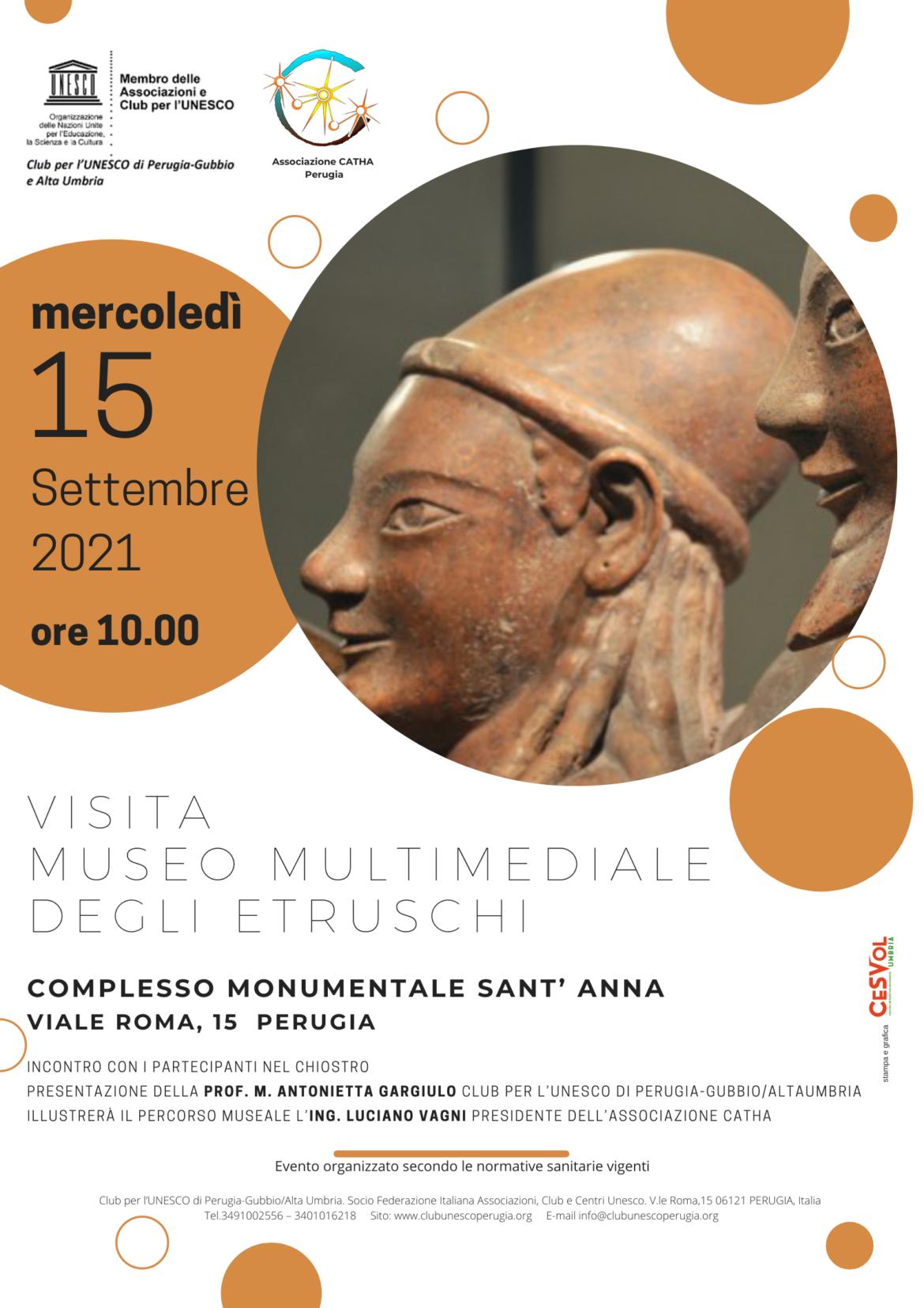 Visita al Museo Multimediale degli Etruschi