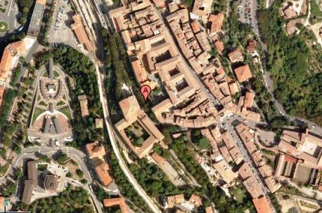 Mappa di Perugia